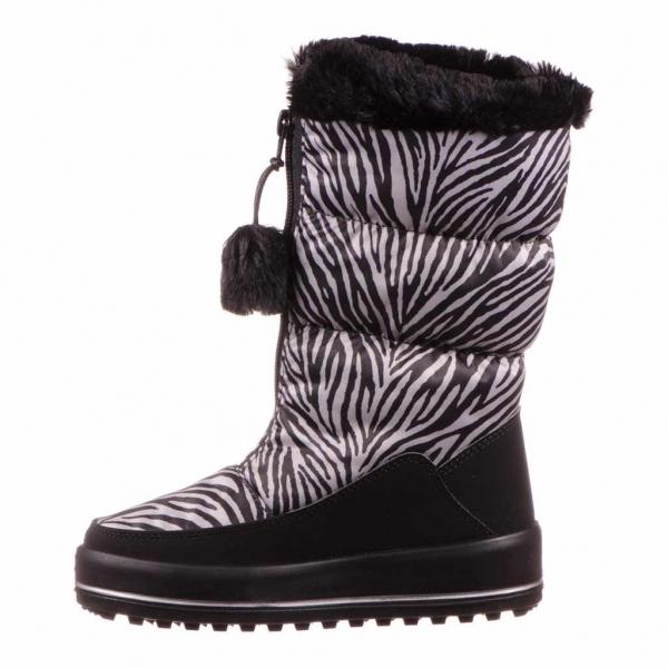 Apreschi zapada fete Ciciban, imprimeu zebra