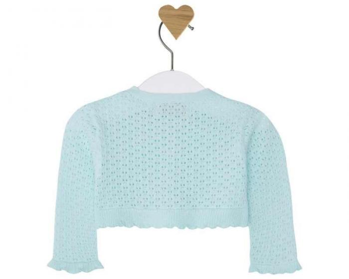 Bolero tricot aqua Mayoral 1