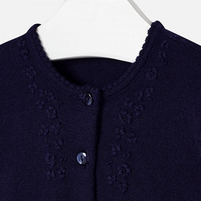 Bolero tricot fete Mayoral, navy 2