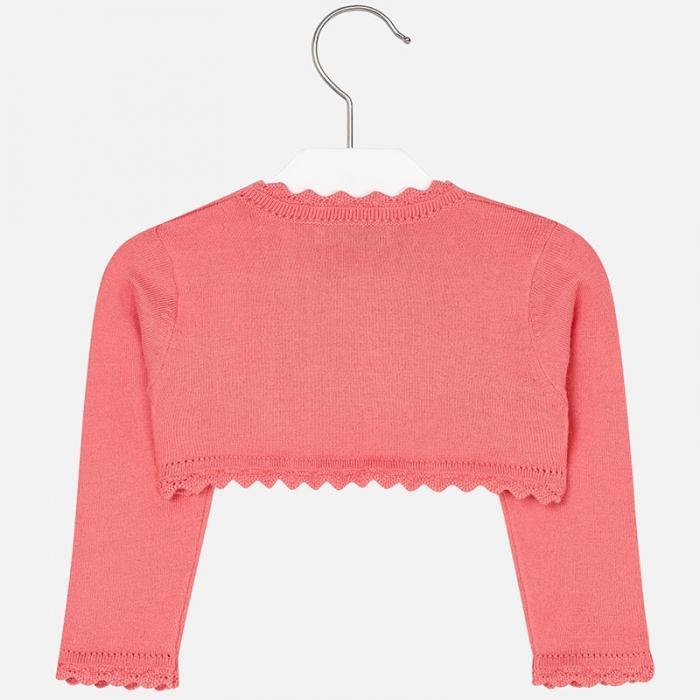 Bolero tricotat feteMayoral, coral 1