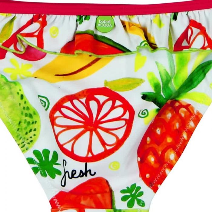 Costum baie 2 piese, imprimeu fructe, Boboli 3