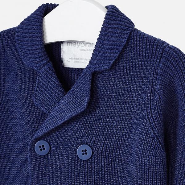 Jacheta baiat tricot Mayoral, navy 2