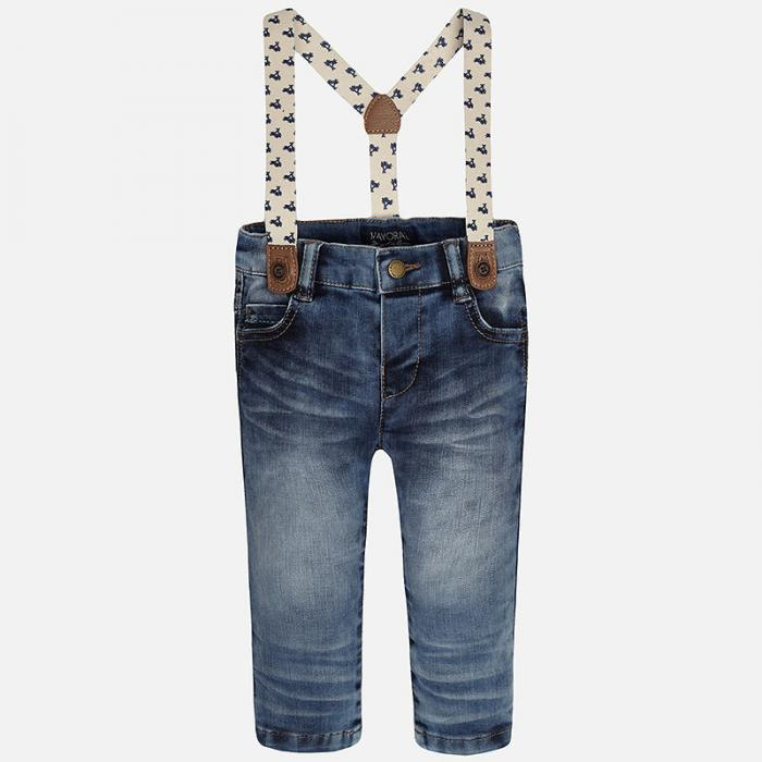 Jeans cu bretele Mayoral 1537