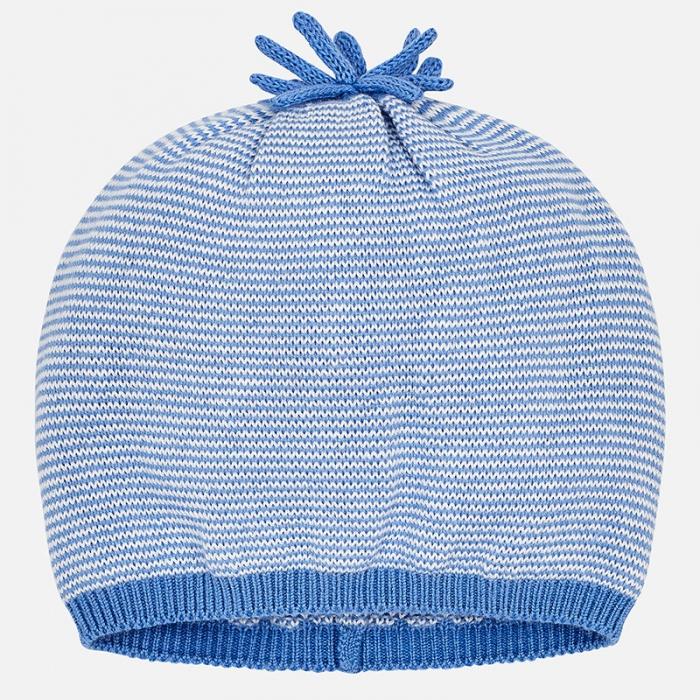 Mayoral - Caciula bebe baiat tricot, culoare blue 0