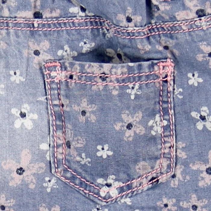 Pantalon jeans scurt fete Boboli