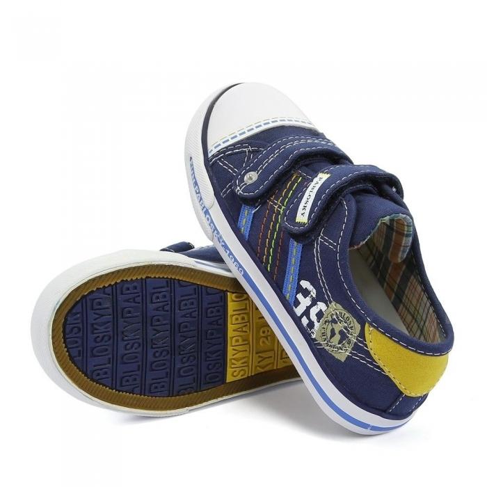 Pantofi sport baieti Pabloski, navy 1