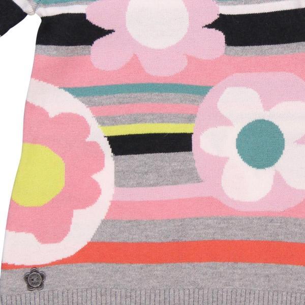 Rochie tricot cu flori Boboli