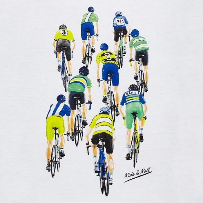 Tricou baiat 2-9 ani Mayoral, imprimeu ciclisti 1