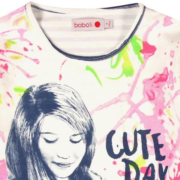"""Tricou fete """"Cute Day"""" Boboli"""