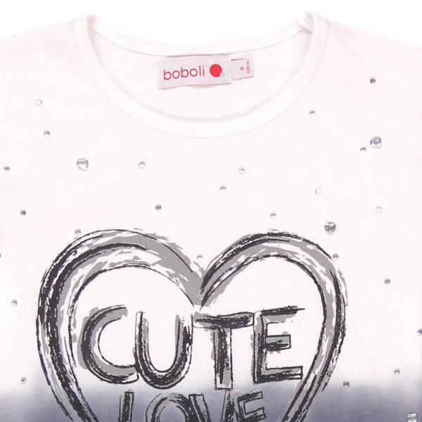 """Tricou fete """"Cute Love"""" Boboli 2"""