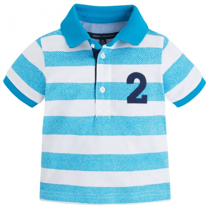 Tricou polo maneca scurta bebe Mayoral 0