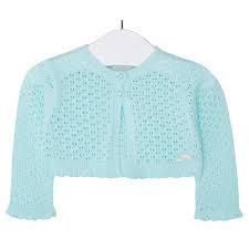 Bolero tricot aqua Mayoral