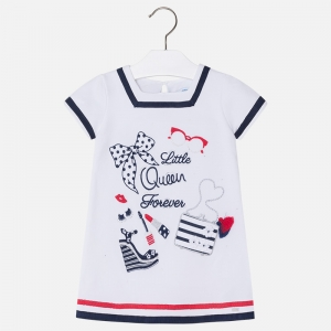 Rochie bumbac little queen Mayoral