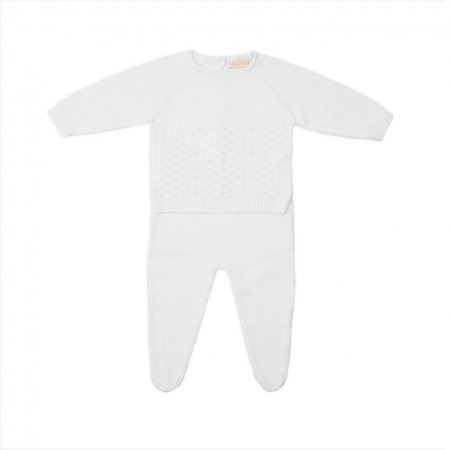 Set bebe tricotat Babybol